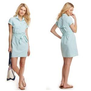 Vineyard Vines Stripe Fishing Shirt Dress 8